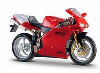 Модель мотоцикла Ducati 998R красный 1:18 Bburago (18-51030-16)