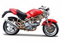 Модель мотоцикла Ducati Monster 900 красный 1:18 Bburago (18-51030-11)
