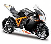 Модель мотоцикла KTM 1190 RC8 R черный 1:18 Bburago (18-51030-8)