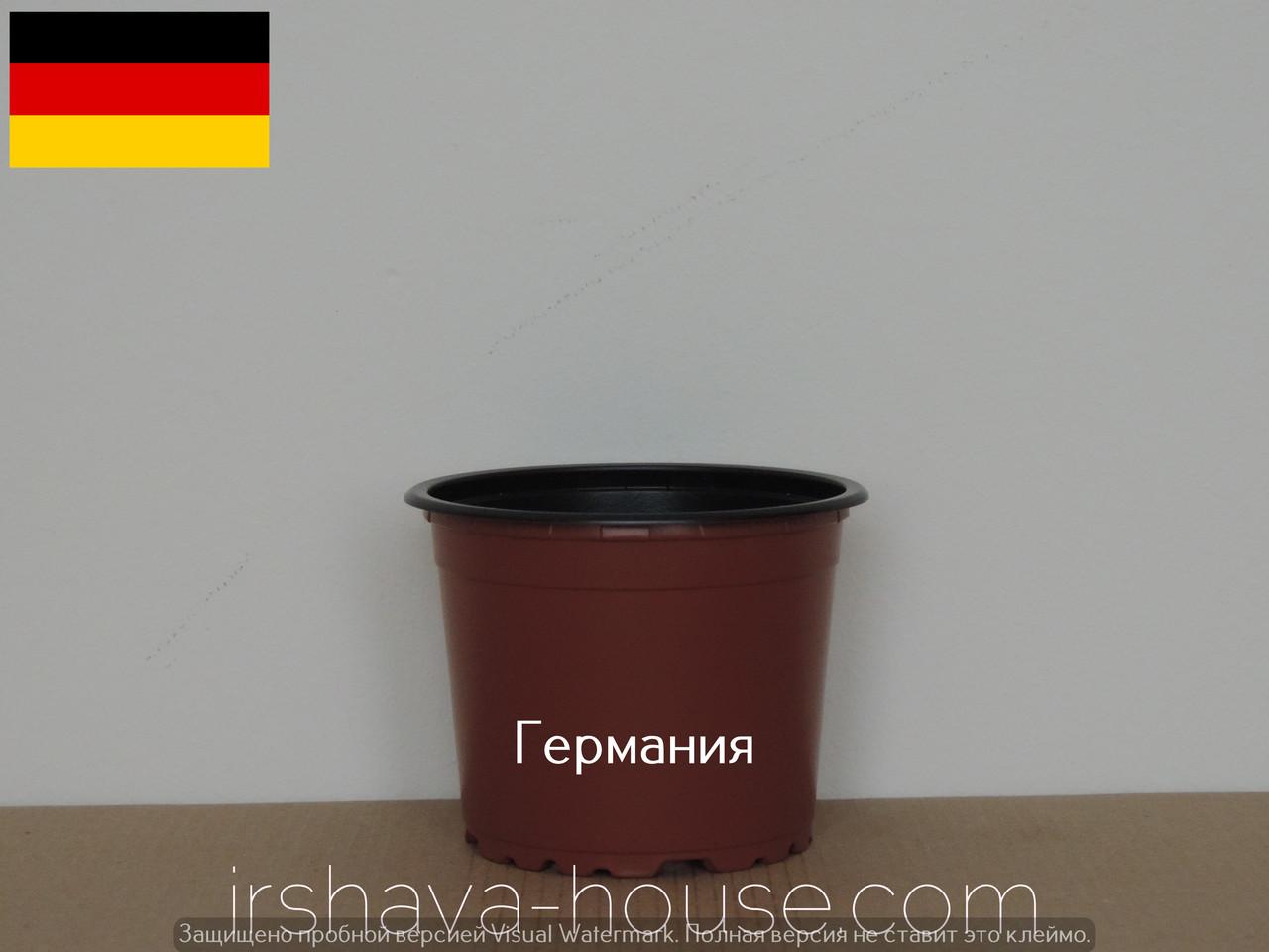 Горшки для цветов в черном цвете