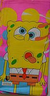 Детский носовой платочек цветной Spohge Bob