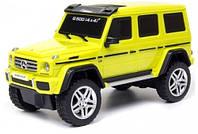 Автомобиль Mercedes Benz G500 желтый 1:26 свет звук GearMaxx (89801-1)