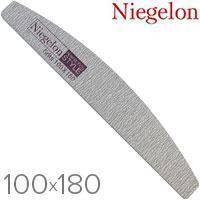 Пилочка минеральная Niegelon 100/180,серая, фото 1
