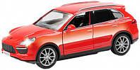 Автомодель Porshe Cayenne II с инерционным механизмом красный Uni Fortune (554014-2)
