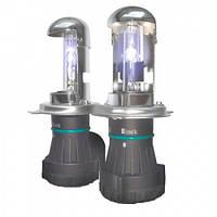 Биксеноновая лампа Infolight H4 H/L 6000K ver.2 35W