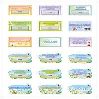 Таблички для дитячого садочка