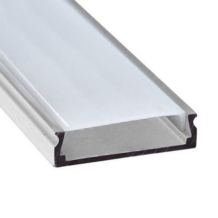 Алюминиевый профиль CAB 263 для LED ленты серебро (за 1м) Код.57759, фото 2