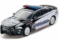 Автомобиль Dodge Charger Police 2014 черный 1:26 (свет, звук), GearMaxx (89731)
