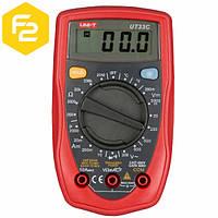 UT33C - цифровой мультиметр UNI-T универсальный + измерение температуры от -40~1000 ºC