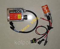 КОМПЛЕКТ Ксенон Sho-Me DC H1/H3/H4/H7/H11/H27/HB3/HB4 5000K постоянного тока, купить