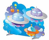 """Декорация """"Летающие тарелки"""""""