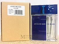 Armand Basi In Blue edt 100 tester тестер Оригинал Арманд Баси Блу мужские духи