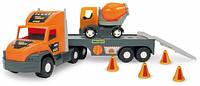 Машина Super Tech Truck с бетономешалкой, Wader (36750)