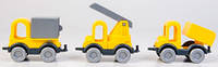 Набор машинок Строитель Kid Cars, Wader (39270)