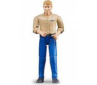Игрушка - фигурка человека в голубых джинсах 11см BRUDER (60006)