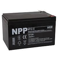 Батарея для ИБП 12В 12Ач NPP NP12-12