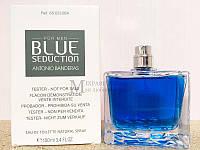 Antonio Banderas Blue Seduction tester тестер Оригинал мужские и женские