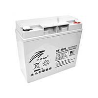 Батарея для ИБП 12В 20Ач AGM Ritar RT12200 / 12V 20.0Ah / 181х77х167 мм