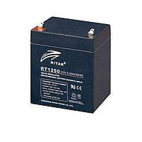 Батарея для ИБП 12В 5Ач AGM Ritar RT1250B / 12V 5.0Ah / 90х70х107 мм