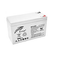 Батарея для ИБП 12В 7.2Ач AGM Ritar RT1272 / 12V 7.2Ah / 151х65х100 мм