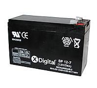 Батарея для ИБП 12В 7Ач X-Digital SP 12-7 (SW1270), 151х65х94