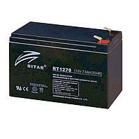 Батарея для ИБП 12В 8Ач AGM Ritar RT1280 / 12V 8.0Ah / 151х65х100 мм