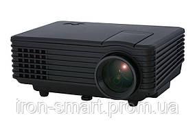 Проектор Tecro PJ-1010, LCD, 1000:1, 800 lm, 800x480, HDMI, VGA, USB, AV