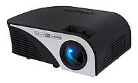 Проектор Tecro PJ-1020, LCD, 1500:1, 1200 lm, 800x480, HDMI, VGA, USB, AV