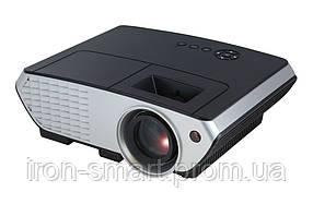 Проектор Tecro PJ-2030, LCD, 1500:1, 2000 lm, 800x480, HDMI, VGA, USB, AV