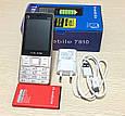 Телефон T810 на 3 Sim-карты 3000 акб, фото 8