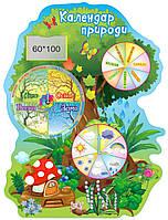 """Стенд настільний для дитячого садка """"Календар природи?"""""""