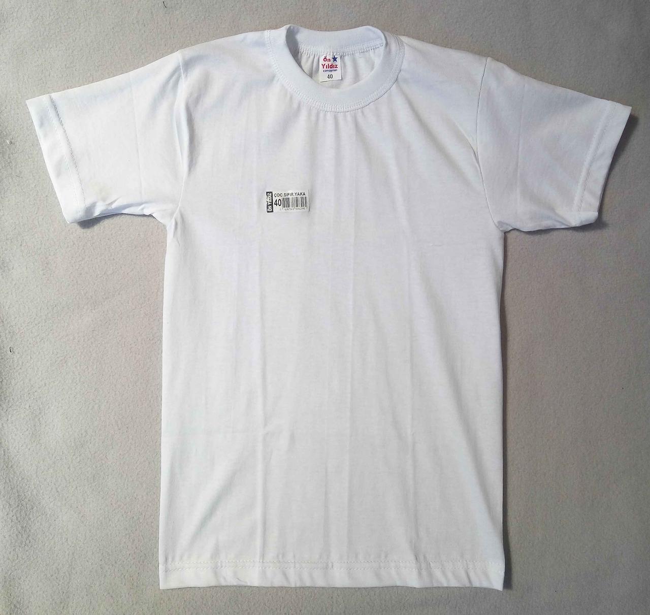 78c6b402a49c3af Детская белая футболка рр 48-54 Турция, цена 52 грн., купить в Одессе —  Prom.ua (ID#558488914)
