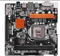 Материнская плата ASRock H110M-DGS, Socket 1151, microATX, Чипсет Intel H110, 2 х DDR4 2133 МГц, 4 x SATA6Gb,