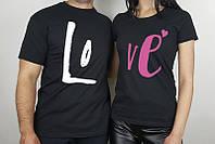 Парные футболки для влюбленной пары