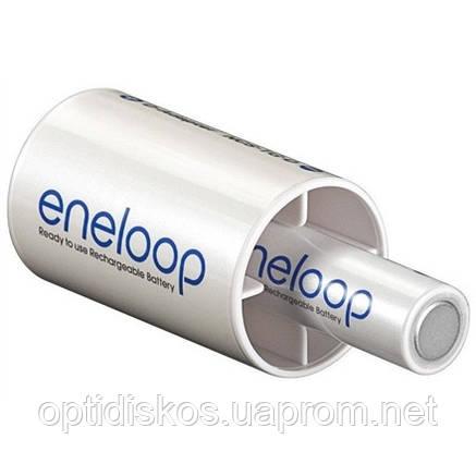 Адаптер - переходник с АА (R6) на D (R20) Panasonic Eneloop, фото 2