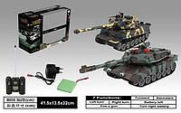 Танковый бой на радиоуправлении Leopard 2A5 vs Tiger I (99823)