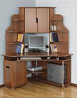 Компьютерный стол Летро Форум ореховый