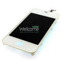 IPhone 4G LCD with touch and frame white orig (TEST)