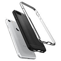 Чехол Spigen для iPhone 8 / 7 Neo Hybrid, Satin Silver, фото 1