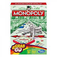 Настольная игра Монополия. Дорожная версия (Monopoly. Travel-Box)