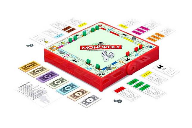 Настольная игра Монополия. Дорожная версия (Monopoly. Travel-Box), фото 2
