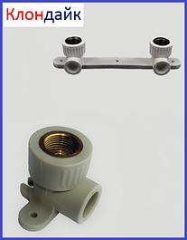 Монтажный угол и планка для полипропиленовых (PPR) труб