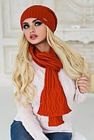 Комплект «Ясмин» (шапка и шарф)