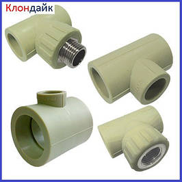 Тройник для полипропиленовых (PPR) труб