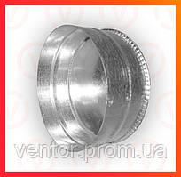 Ревізія (глушка) з оцинкованої сталі, діаметр 100-200 мм