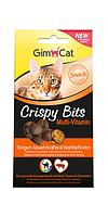 Мясные шарики GimCat Crispy Bits Multi-Vitamin для кошек мультивитамин, 40 г