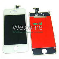 IPhone4S LCD with touch white with frame high copy (TEST)
