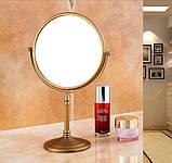 Зеркало настольное в бронзе 0415, фото 2