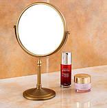 Зеркало настольное в бронзе 0415, фото 3
