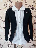 Детская блуза-обманка для девочки